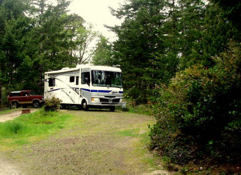 Thousand trails rv resort pacific city oregon ramblin for Pacific city oregon cabins