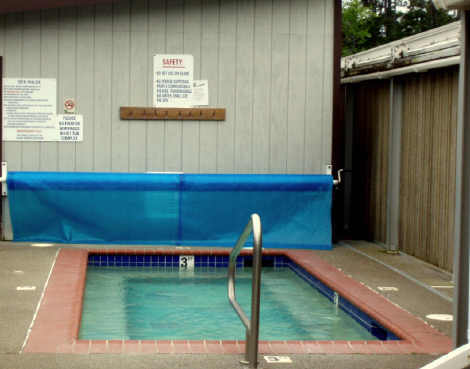 Around the campground and down to the beach ramblin for Life of pi swimming pool