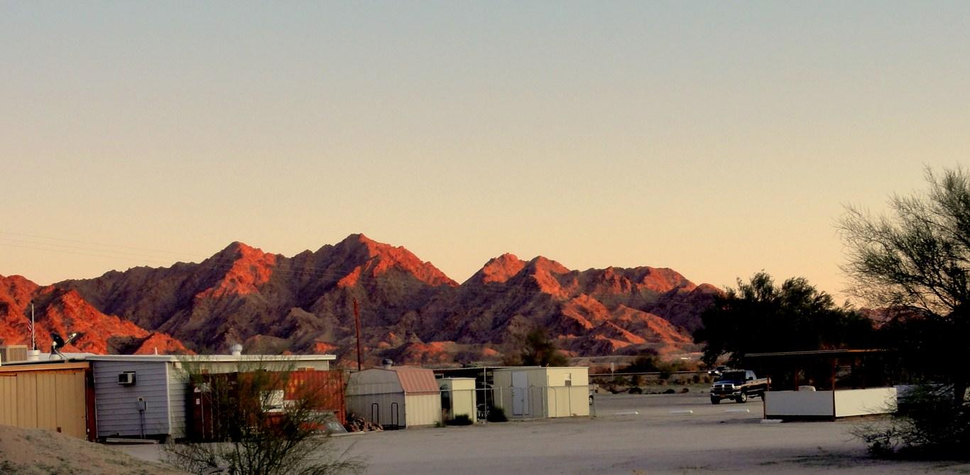 ramblinman current location near yuma arizona