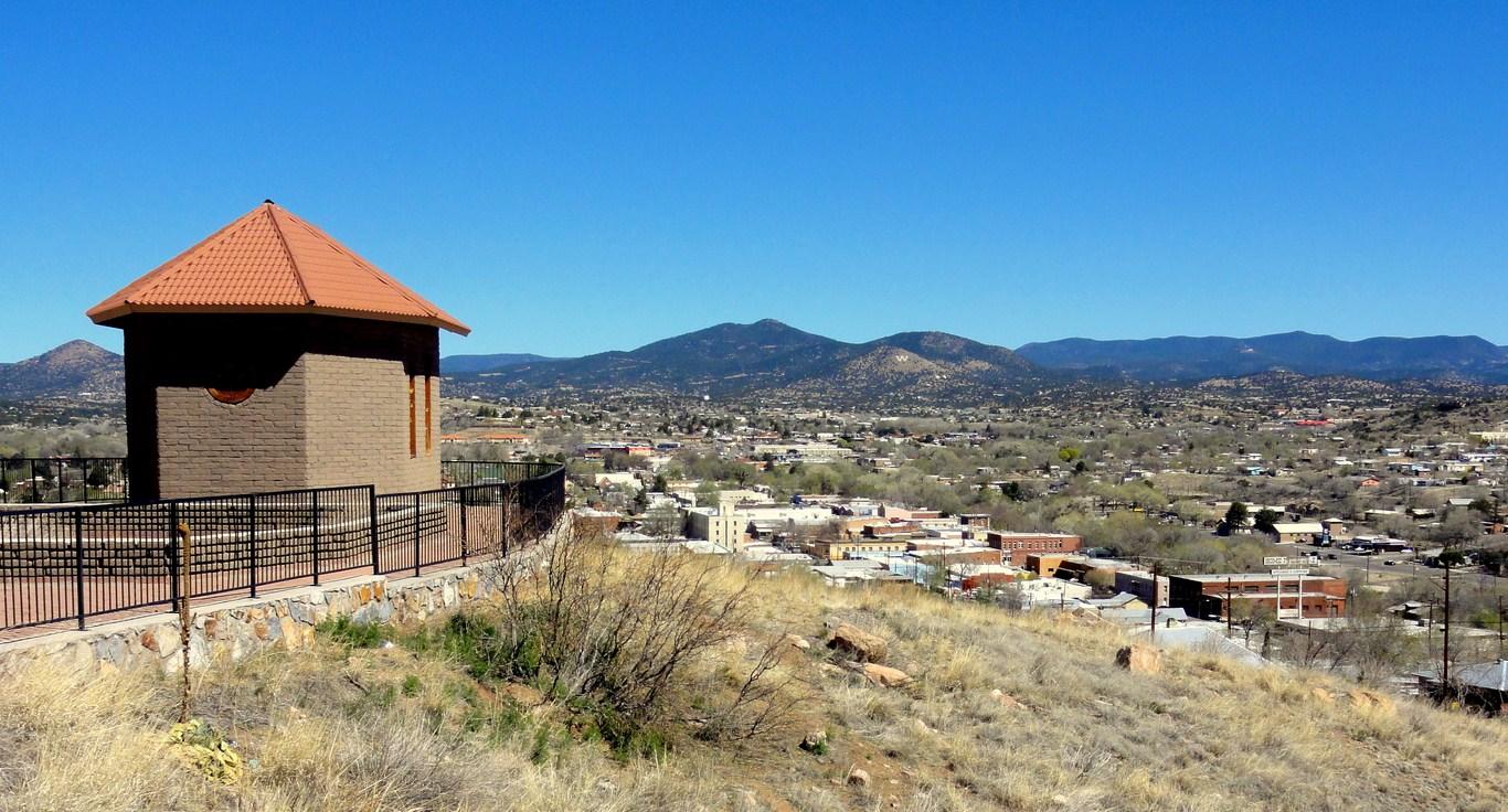 La Capilla Overlooks Silver City New Mexico On The