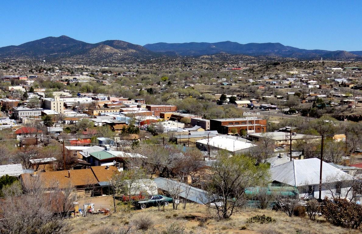 La Capilla Overlooks Silver City New Mexico Que Sera