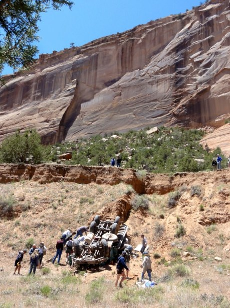 Memorial Day Weekend Accident On Canyon De Chelly Tour