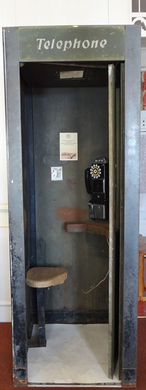 From WWII-Only phone in town
