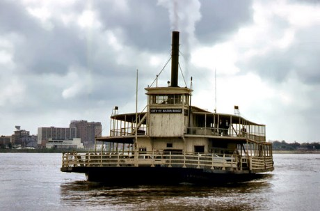 Ferry -City of Baton Rouge 1965 Copyright David Meare Oldham England All Rights Reserved
