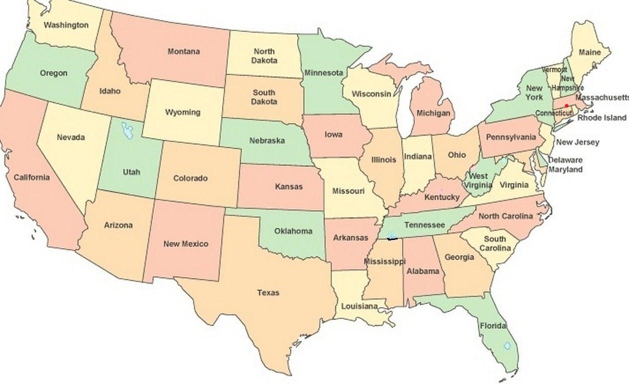 Massachusetts On Map massachusetts | On The Road With Jim And Mary Massachusetts On Map