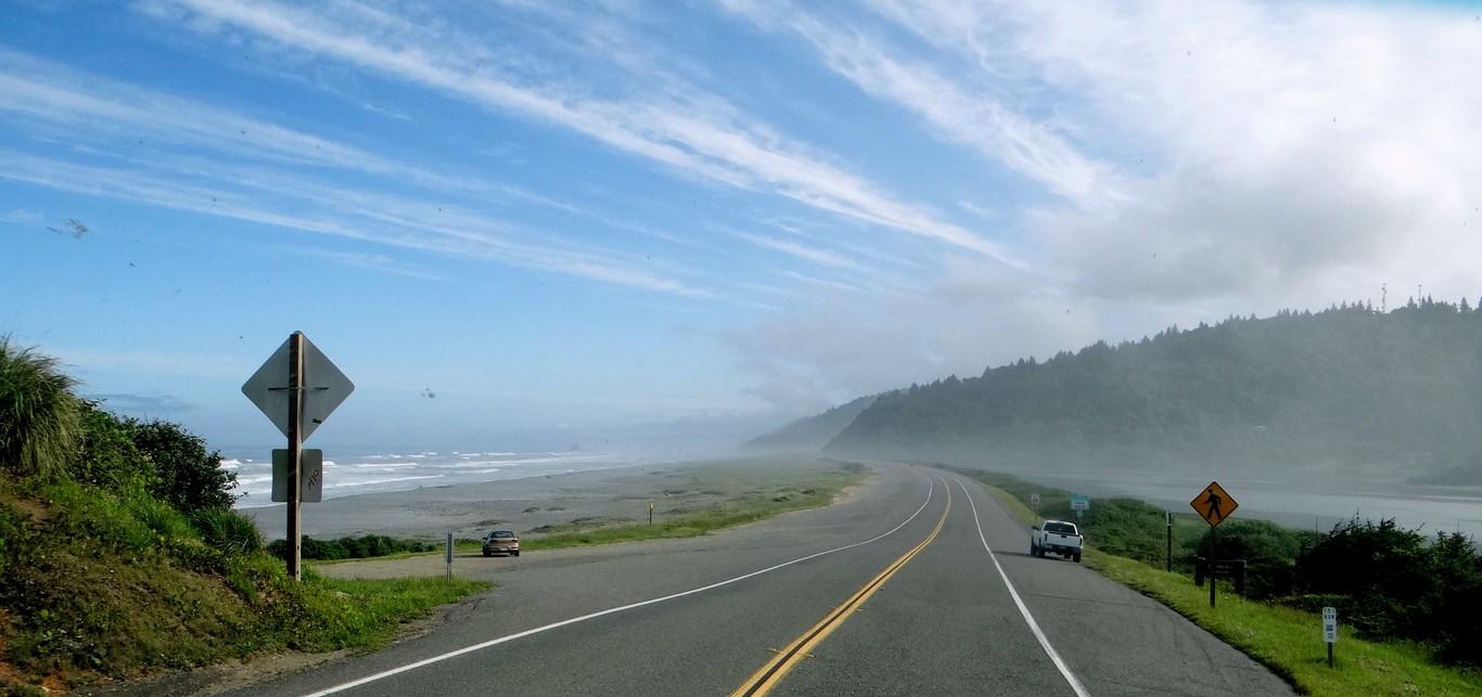U S Highway 101 Northern California Ramblin Man