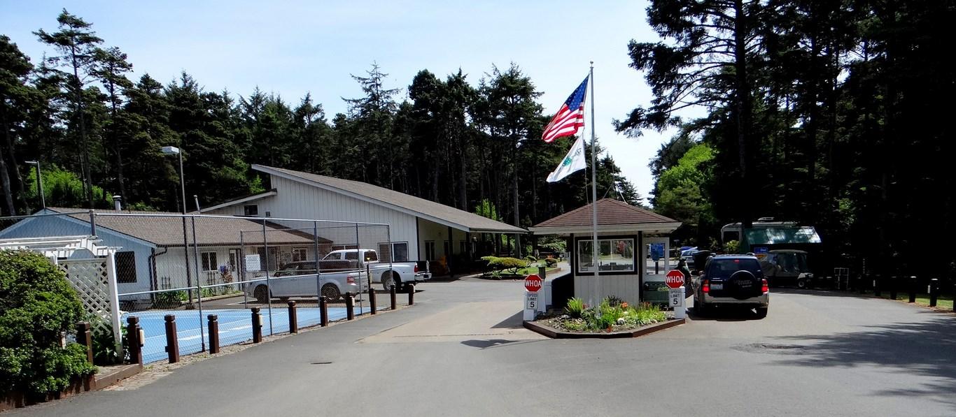 Thousand Trails Whalers Rest Rv Resort Newport Oregon