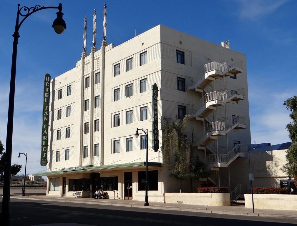 hotel san carlos yuma arizona ramblin 39 man full time. Black Bedroom Furniture Sets. Home Design Ideas
