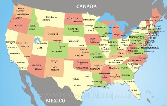 united-states-mapNE