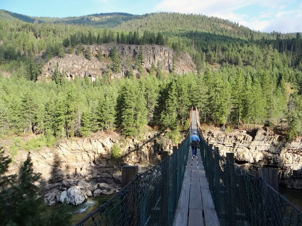 Will know, pics of swinging bridge in montana apologise