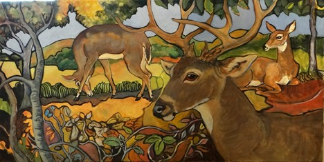 Black Tail Deer by Laurie Williams.