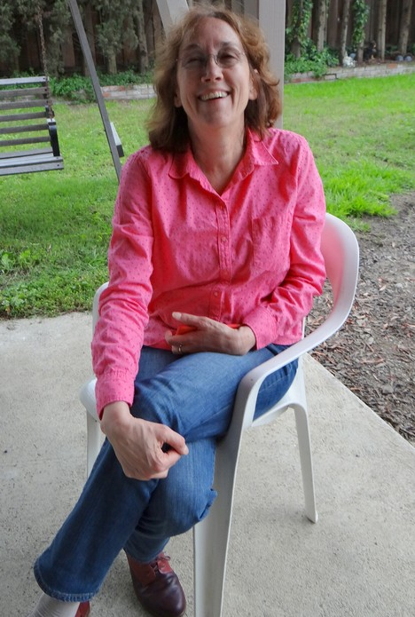 Always smiling, Leslie Nolan