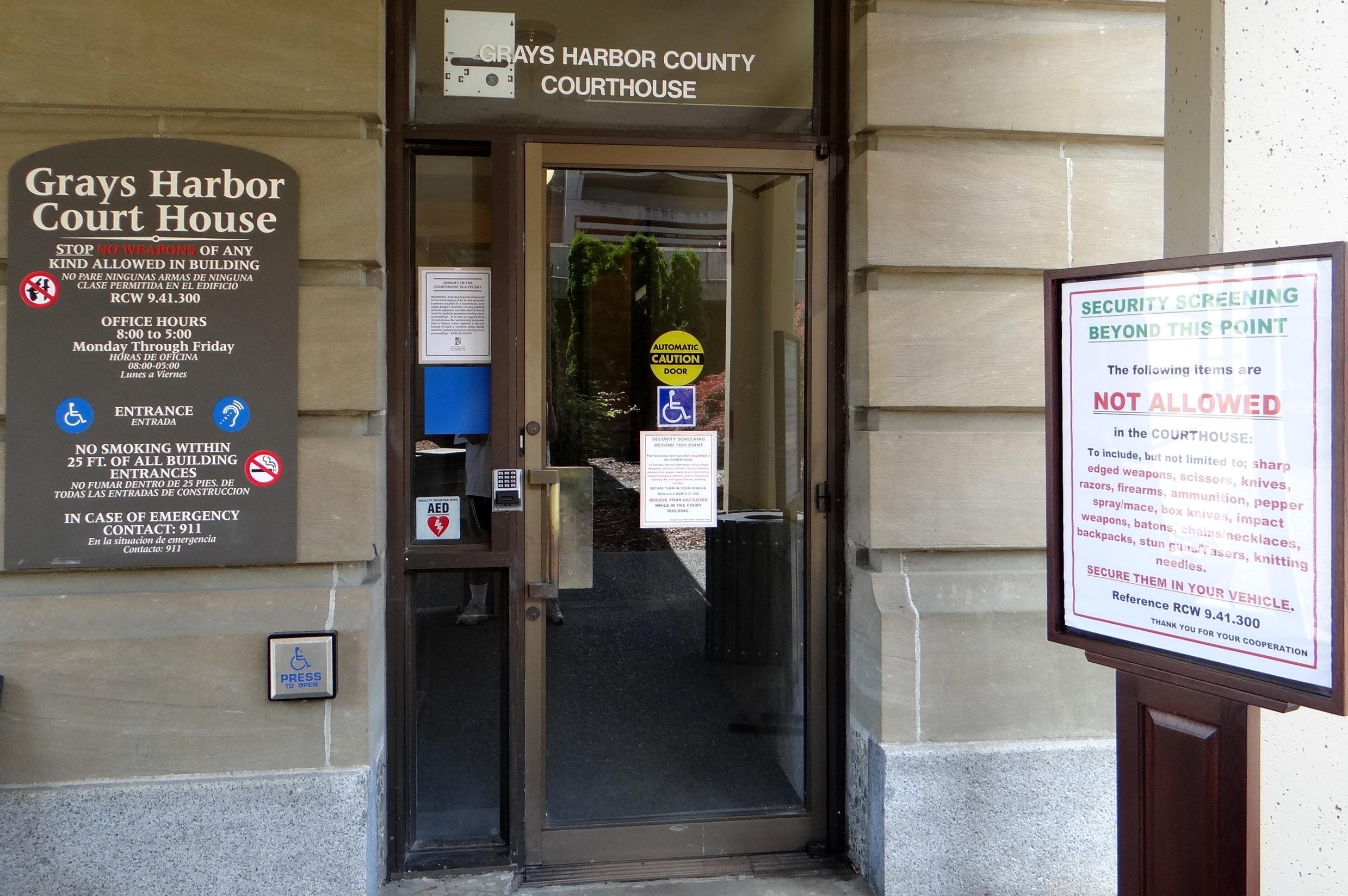 Grays Harbor County Court House – Montesano, Washington | Que Sera