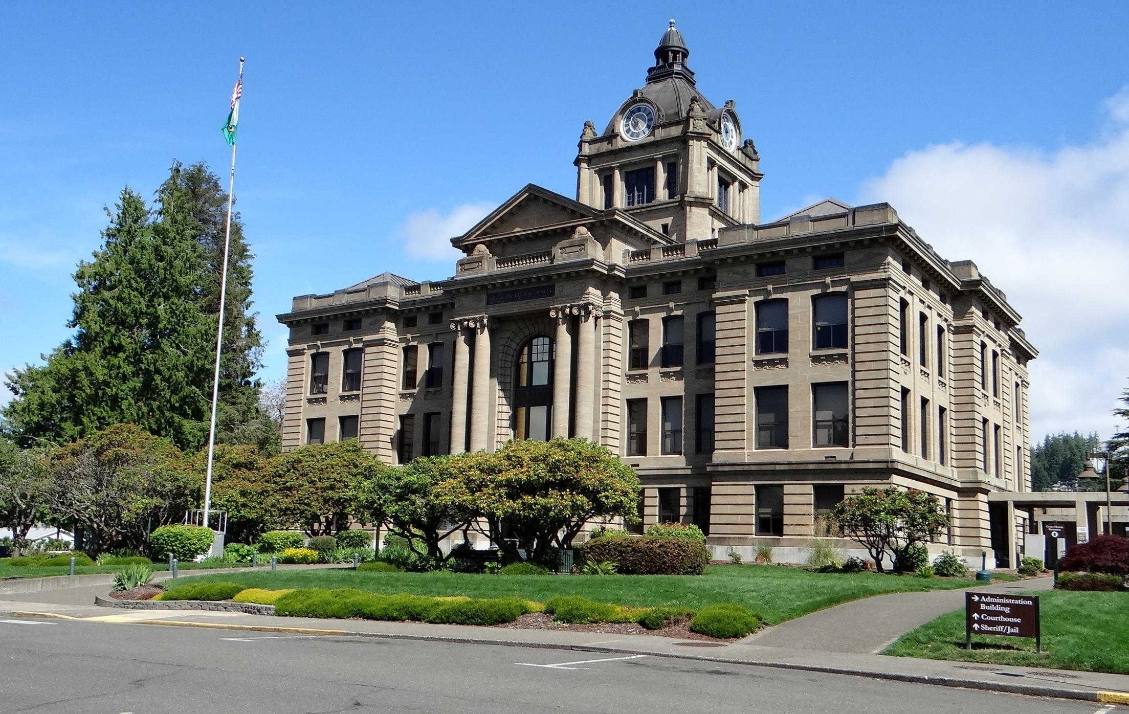 Grays Harbor County Court House – Montesano, Washington