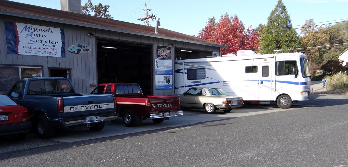New Front Shocks And Brake Pads For The Motorhome… | On The