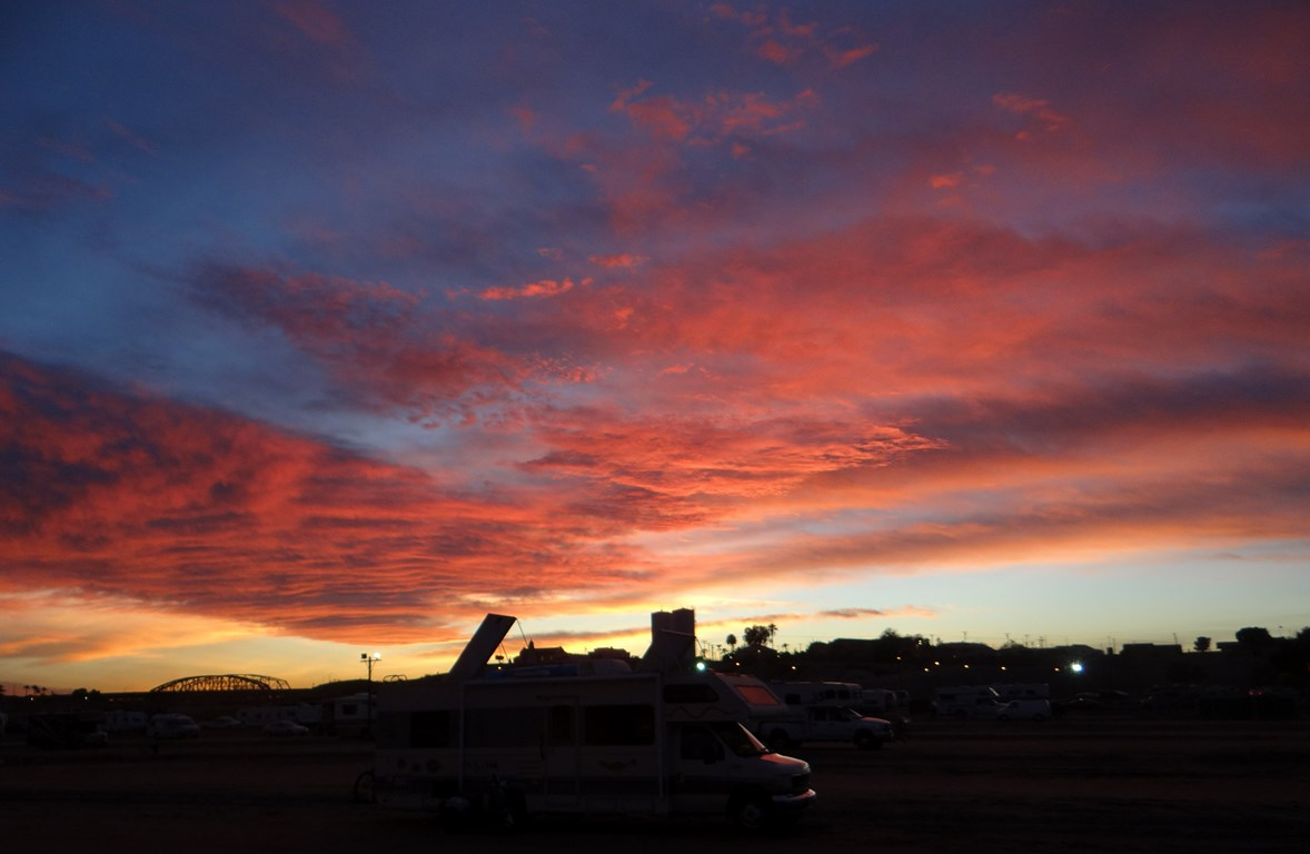 Another Neat Yuma Arizona Sunrise Ramblin Man Full
